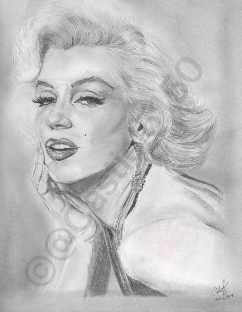 Marilyn Monroe por Castiel5150